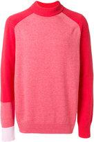 Sacai colourblock jumper