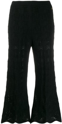 Twin-Set Embroidered Cropped Trousers