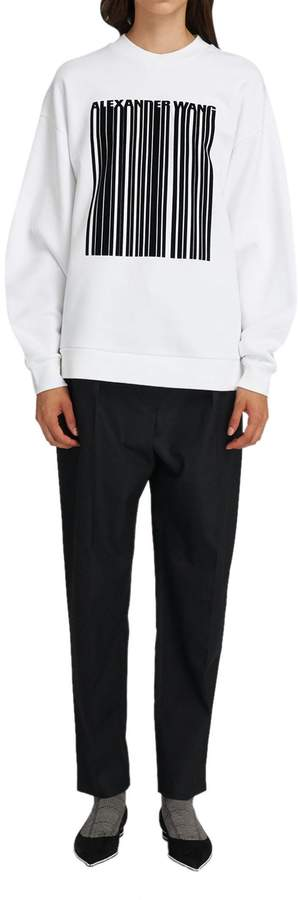 Alexander Wang White Sweater With Graphic