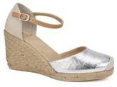 White Mountain Mamba Espadrille Wedge Sandal