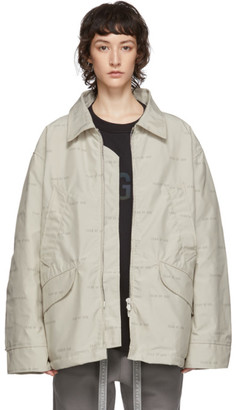 Fear Of God Off-White Logo Field Jacket