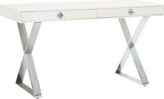 Jonathan Adler Channing Desk Color (Top): White