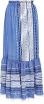 Lemlem Izara Convertible Cotton-Blend Skirt
