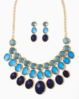 Charming charlie Evening Hues Necklace Set