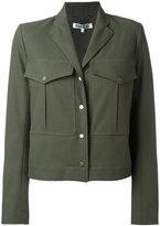 Kenzo cropped military jacket