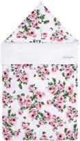 Dolce & Gabbana rose print hooded nest