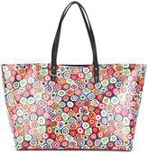Tory Burch floral print tote - women - PVC - One Size