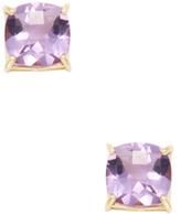 Roberto Coin Shanghai 18K Yellow Gold & Amethyst Stud Earrings
