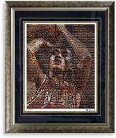Bed Bath & Beyond Derrick Rose Framed Limited Edition 16-Inch x 20-Inch Mosaic Collage Photo