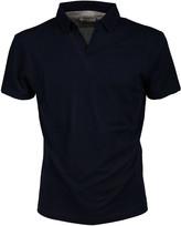 Paolo Pecora Open Collar Polo Shirt