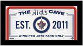 "Steiner Sports Winnipeg Jets 10"" x 20"" Kids Cave Sign"
