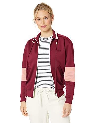 13a7fe2e10 Women's L/S Neoprene Color Block Zipped Sweatshirt