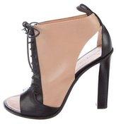 Celine Bi-Color Asymmetrical Sandals