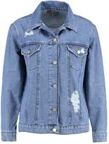 Dorothy Perkins OVERSIZED Denim jacket indigo