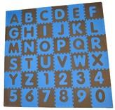 Tadpoles Tadpole Mat 36 Piece - ABC (Blue/Brown)