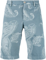 Etro paisley print shorts - men - Cotton/Spandex/Elastane - 48