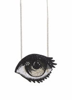 Forest of Chintz Kaw Eye Pendant Necklace