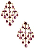 Amrita Singh Zahra 14K Yellow Gold, Tourmaline & Diamond Chandelier Earrings