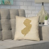 ArtVerse Katelyn Smith 26 x 26 Faux Suede Double Sided Print with Concealed Zipper /& Insert South Carolina Canvas Pillow