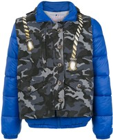 À La Garçonne waistcoat quilted jacket