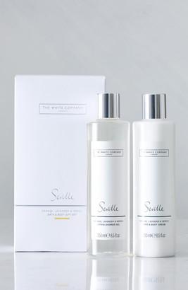 The White Company Seville Bath & Body Set