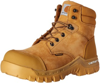 "Carhartt Men's 6"" Rugged Flex Waterproof Breathable Composite Toe Leather Work Boot CMF6356"