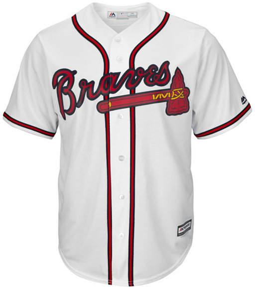 Majestic Men Atlanta Braves Replica Jersey