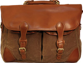 Mulholland Vintage Waxed Canvas Angler's Bag