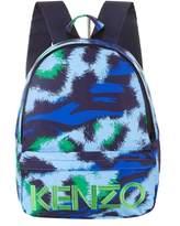 Kenzo Splash Print Backpack, Navy, One Size
