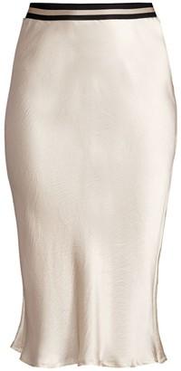 Brochu Walker Hahn Silk Slip Skirt