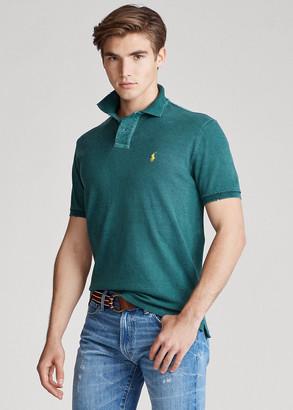 Ralph Lauren Custom Slim Distressed Polo