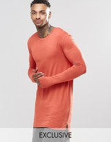 Underated Super Longline Long Sleeve T-Shirt