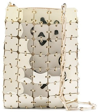 Paco Rabanne Metallic Shoulder Bag