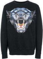 Marcelo Burlon County of Milan panther print top - men - Cotton/Spandex/Elastane - XS