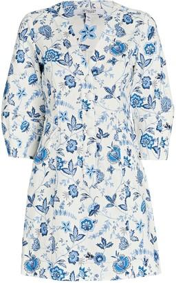 Derek Lam 10 Crosby Ottilie Floral Cotton Mini Dress