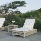 The Well Appointed House Kingsley Bate Southampton Wicker Chaise-Available in Four Different Colors
