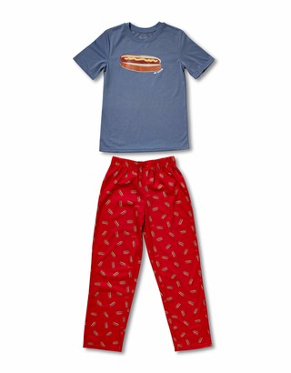 Joe Boxer Big Boy's Hot Dog Tee/Pant Set Sleepwear