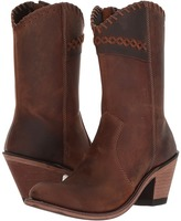 Old West Boots - Crisscross Stitch Boot Cowboy Boots