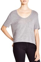 Alexander Wang Classic Pocket Tee Heather Grey