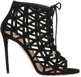 Aquazzura Stiletto Lace-Up Sandals