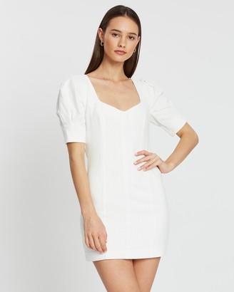 Bec & Bridge Coral Club Mini Dress