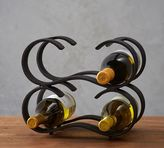 Pottery Barn Rustic Iron Stackable Wine Rack