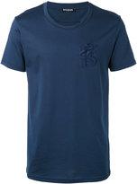 Balmain embroidered lion T-shirt - men - Cotton - M