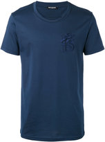Balmain embroidered lion T-shirt - men - Cotton - XL