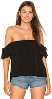 Blq Basiq Off Shoulder Baby Doll Top
