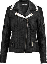 Just Cavalli Quilted shell coat