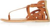 Topshop FLORRIE Beaded Toepost Sandals