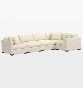 Rejuvenation Wrenton Classic 5-Piece Sectional Sofa