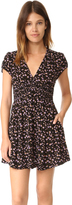 Free People Pretty Baby Printed Mini Dress