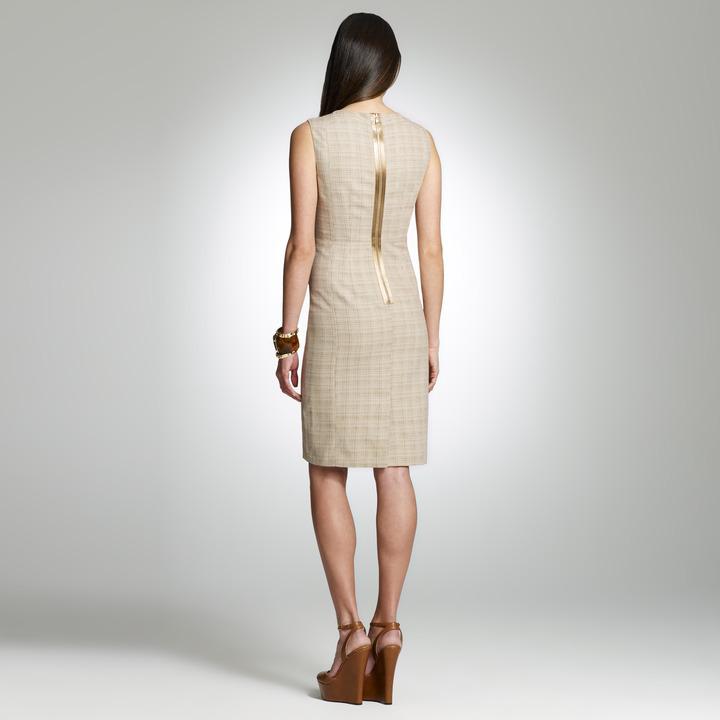 Jones New York Linen Sheath Dress